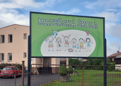 zahrada, Mateřská škola Vysoké nad Jizerou