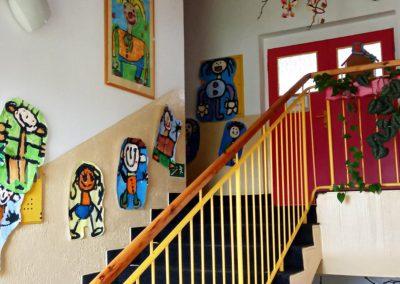 schodiště, Mateřská škola Vysoké nad Jizerou